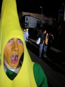 Yep, I'm a banana.