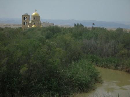Overlooking the Jordan River