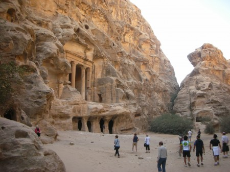 The largest tomb after passing through the siq