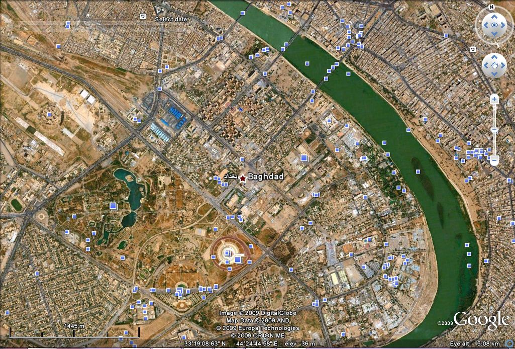Google Earth: 4x more satellite photos taken of Middle East cities