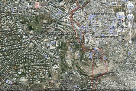 Jerusalem, Palestine/Israel: last updated late November 2007