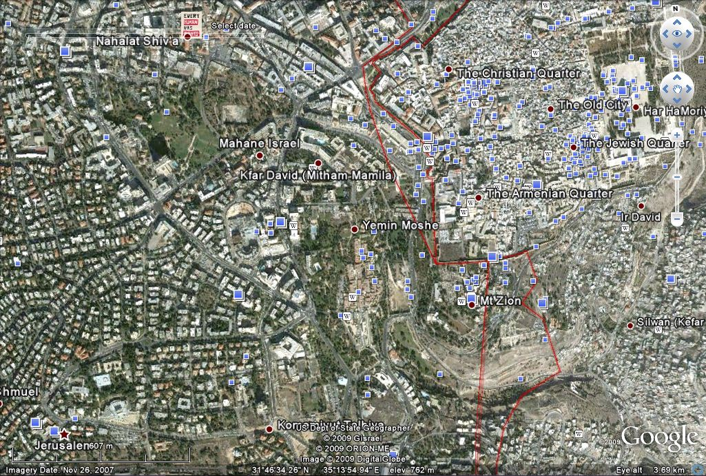 Google Earth 4x more satellite photos taken of Middle East cities