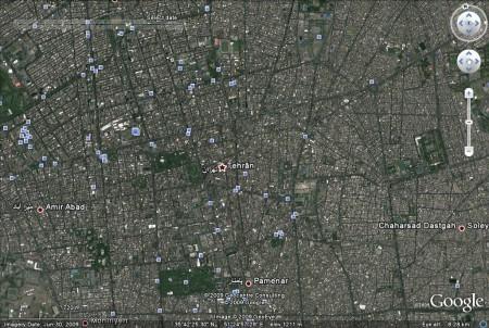 Tehran, Iran: Last updated late June 2009