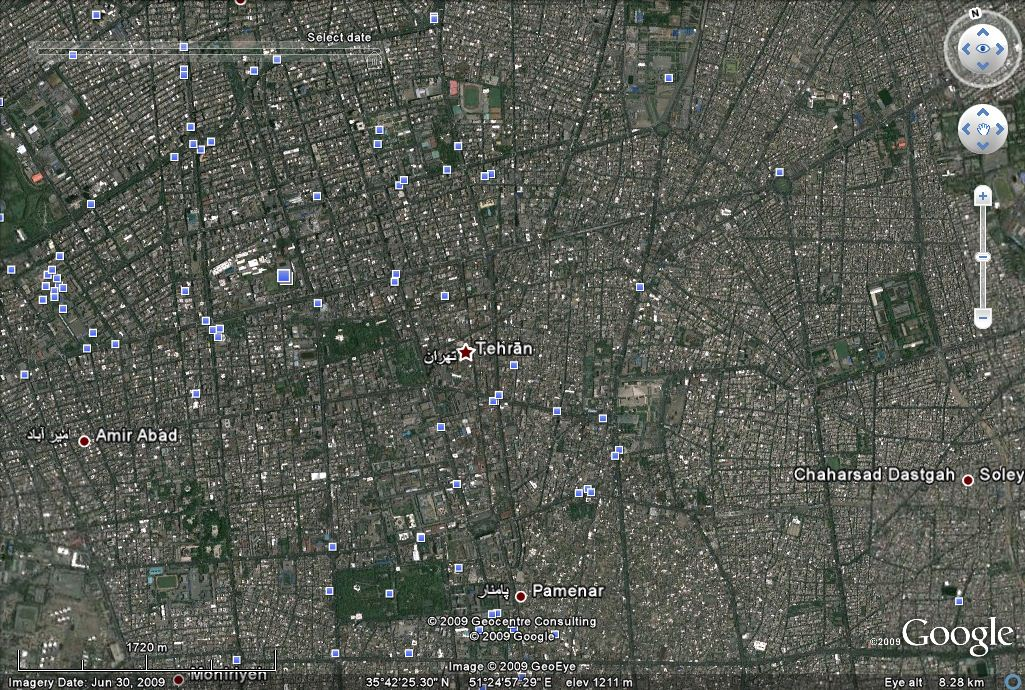 Tehran Iran Last updated late June 2009