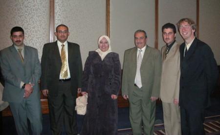 From left to right: Ali Habeeb, Ali Farouqi, Ashwaq, and Imad
