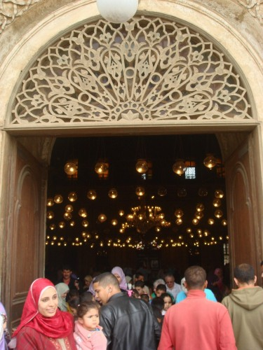 Entering a Turkish-style mosque always makes me think they've somehow acquired hundreds of fairies to light the building