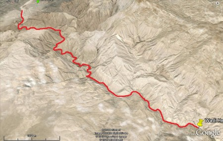 Google Earth to the rescue! 18 KM of fun