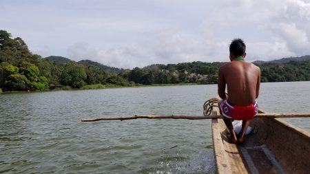 Embera canoe trip